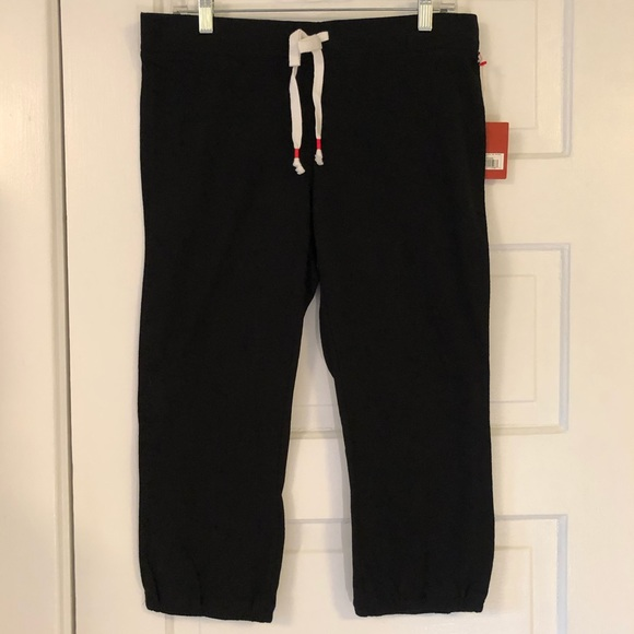 Mossimo Supply Co. Pants - Target Mossimo cropped Capri lounge pants black M